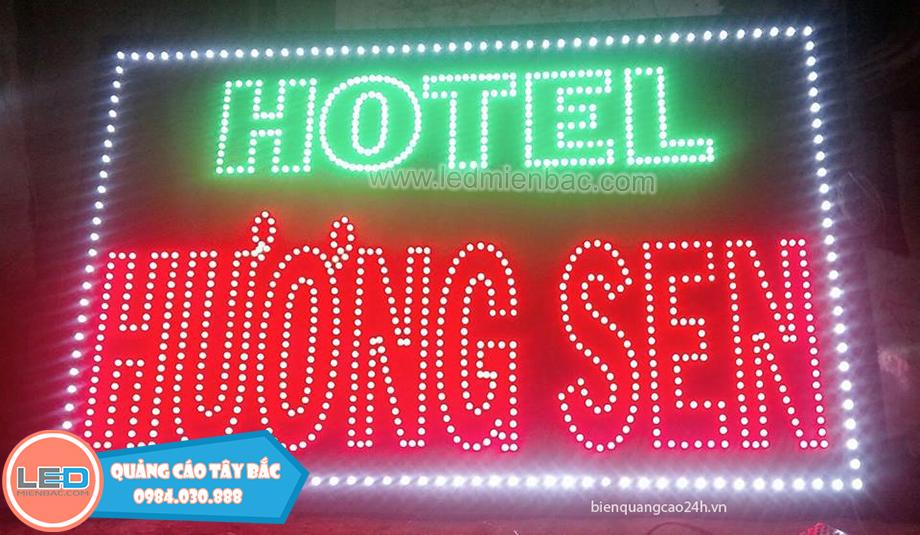 biển led vẫy khách sạn