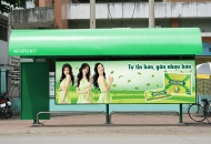 Những điều cần biết về quảng cáo nhà chờ xe bus và trên xe bus