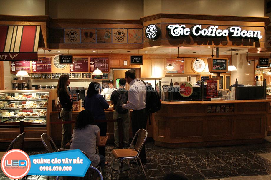Dự án biển quảng cáo Coffe
