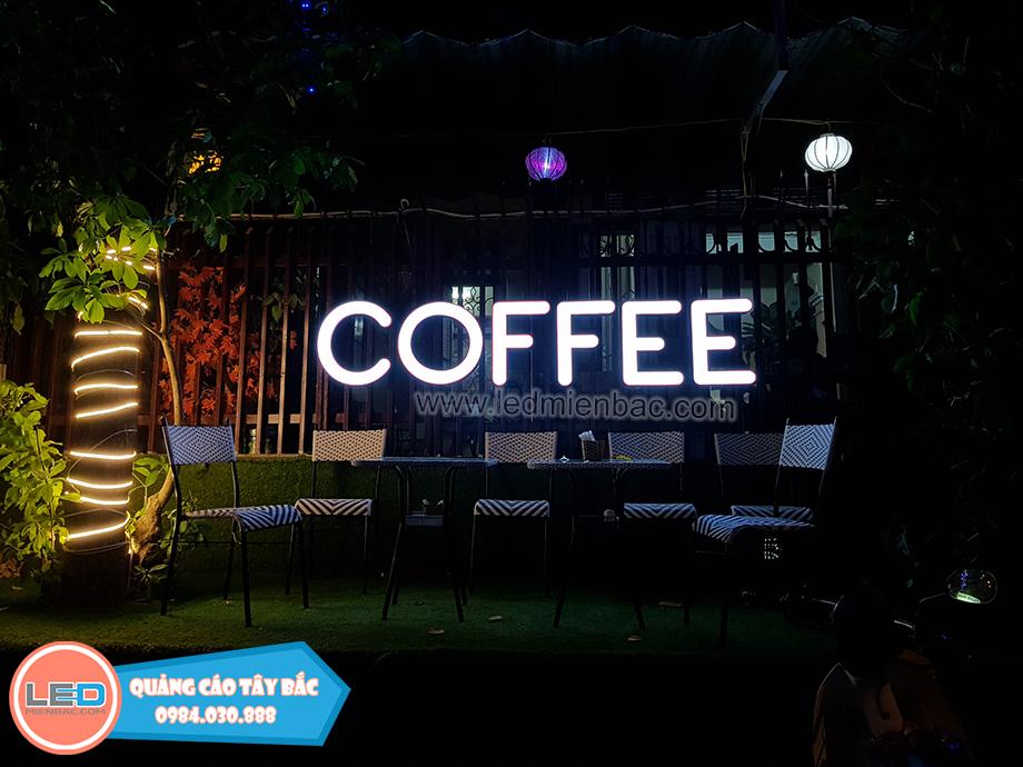 mẫu biển quảng cafe