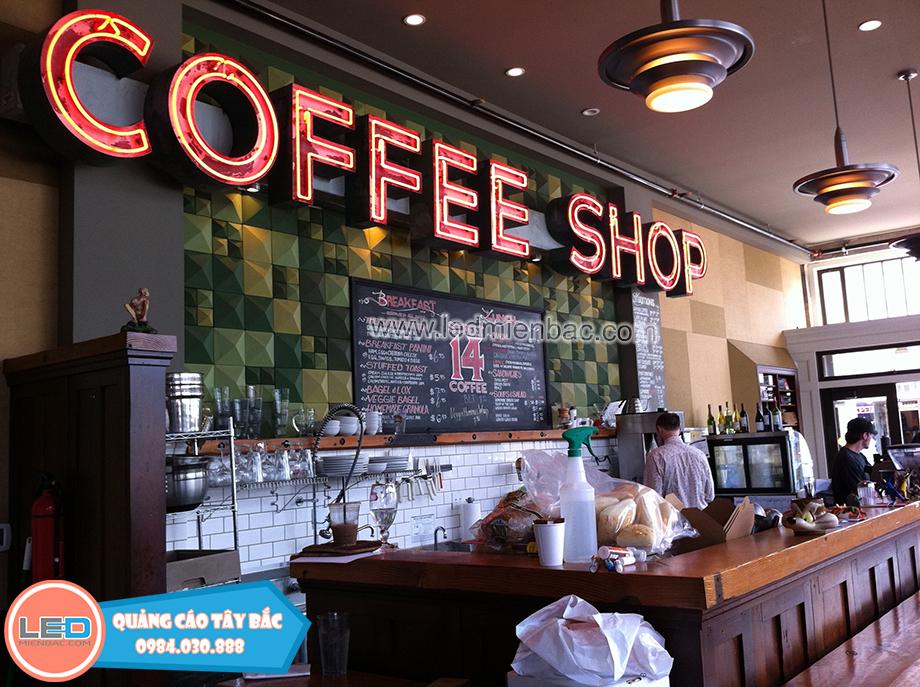 mẫu biển quảng cáo quán cafe