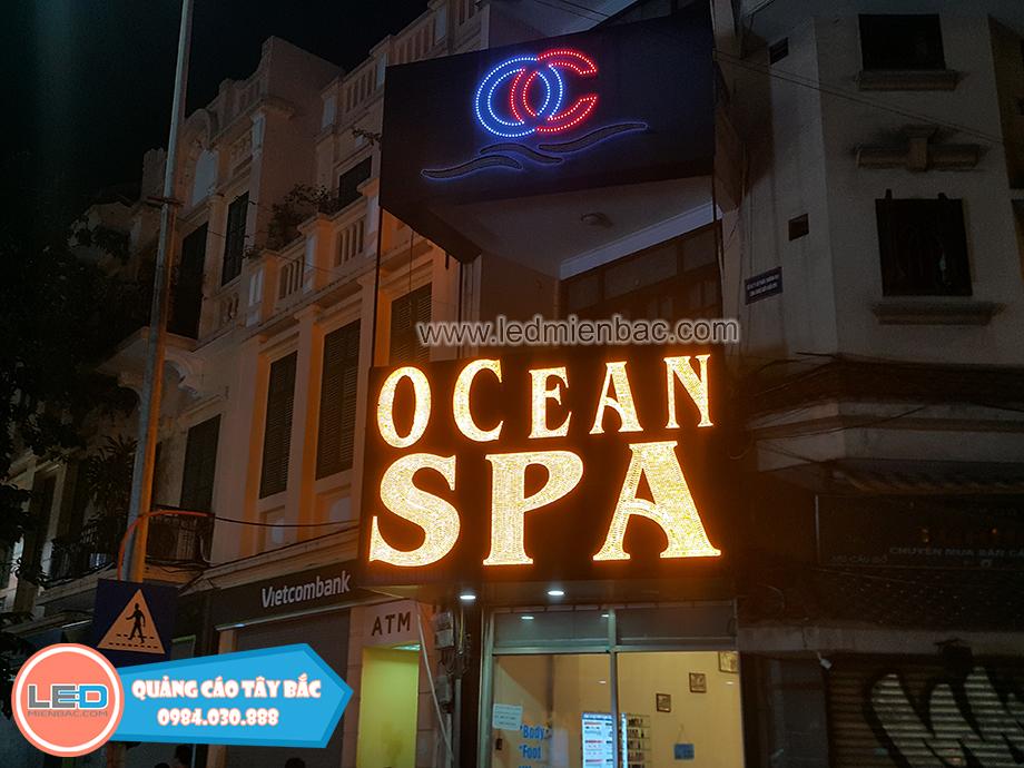mẫu biển spa nổi bật